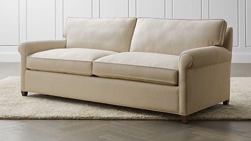 sleeper sofas montclair 2-seat queen roll arm sleeper sofa FXWLCAD