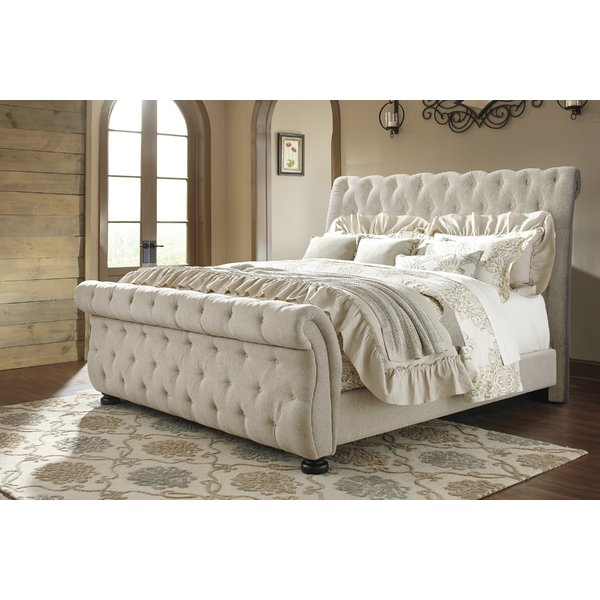 sleigh beds althea upholstered sleigh bed IDYNWXW