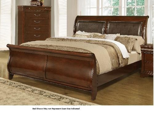 sleigh beds lifestyle 4116a- misk king sleigh bed GBNNCUW