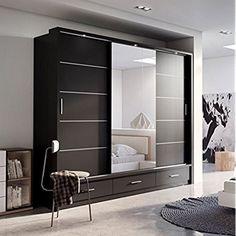 sliding wardrobe 12 roperos increíbles de diseño moderno LNCASTE