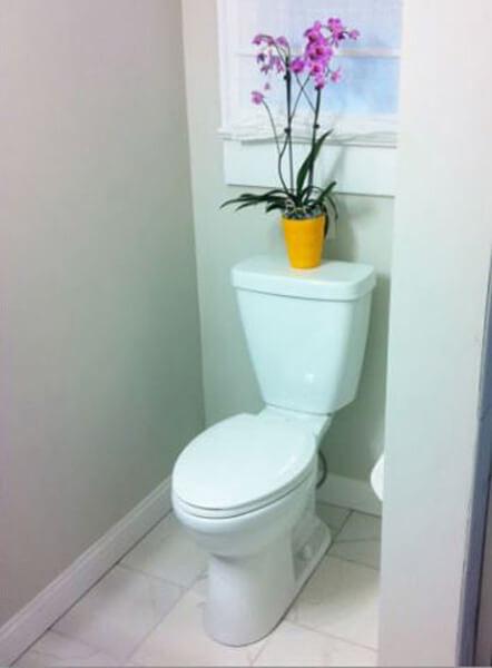small bathroom decorating ideas bathroom decoration idea by britt and the benjamins - shutterfly YDEDIBW