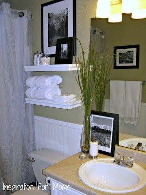 Small Bathroom Decorating Ideas i finished it friday guest bathroom remodel decorating ideas small bathroom ORJOPUM