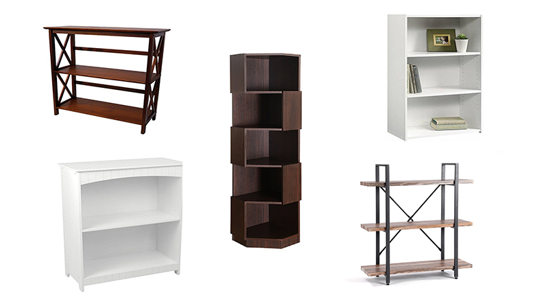 small bookcase small bookcases: 10 best small bookcases 2018 | heavy.com ZWCWURH