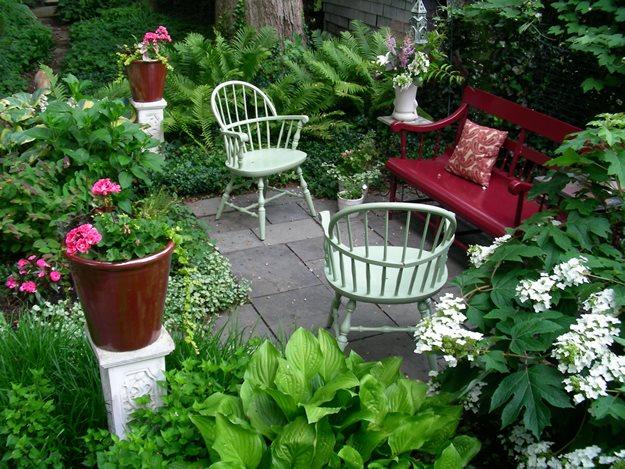 small garden design ideas small garden, big interest eric sternfels (homeowner) philadelphia, pa DMBSLKX