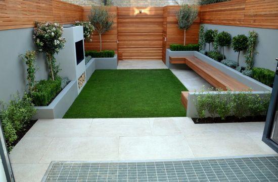 small garden design ideas stylish small backyard garden design with trendy furntiure TMCSCLD