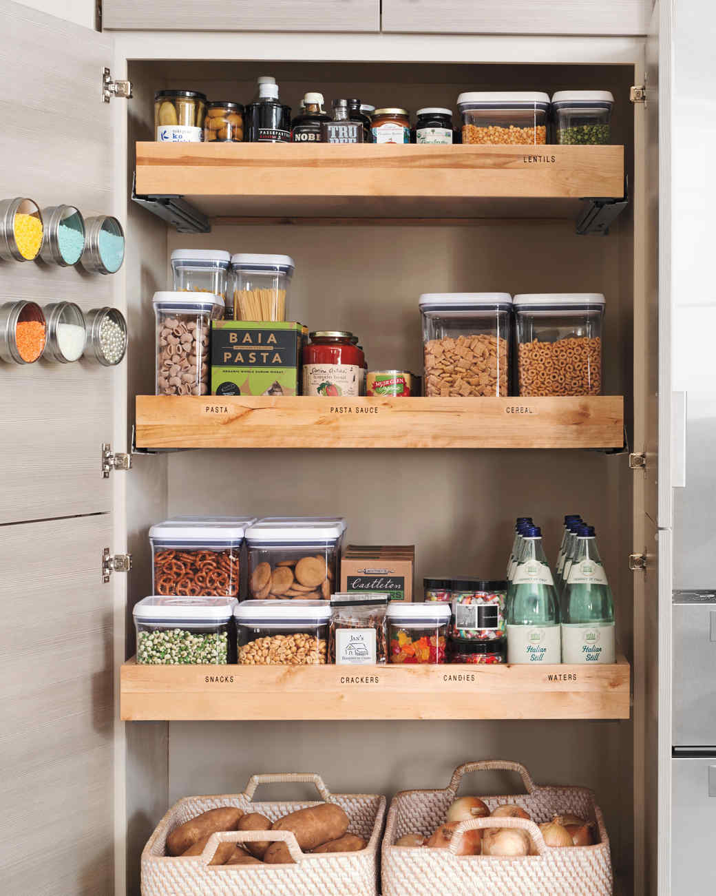small kitchen storage ideas QCLQDDB