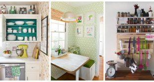 small kitchen storage storage ideas - small kitchens. when you donu0027t have much space UMQEVJQ