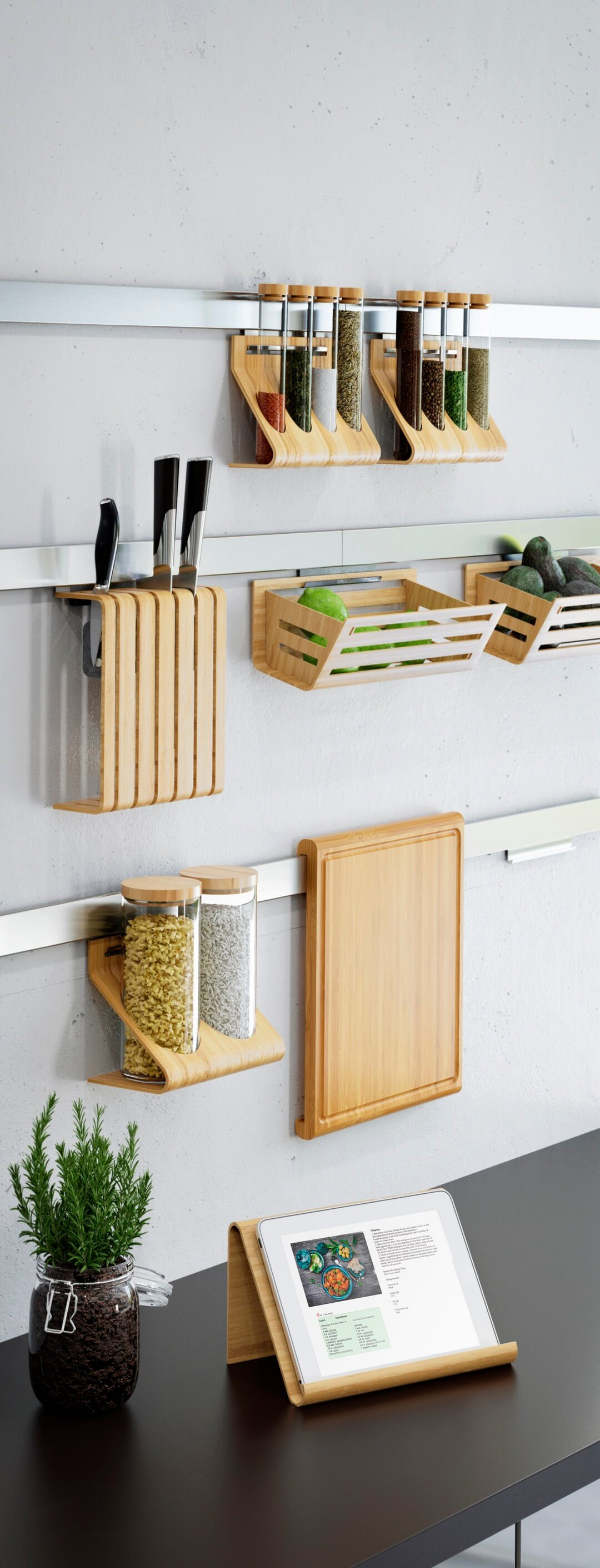 small kitchen storage wall ledges for wooden kitchen accessories OYBPUSE