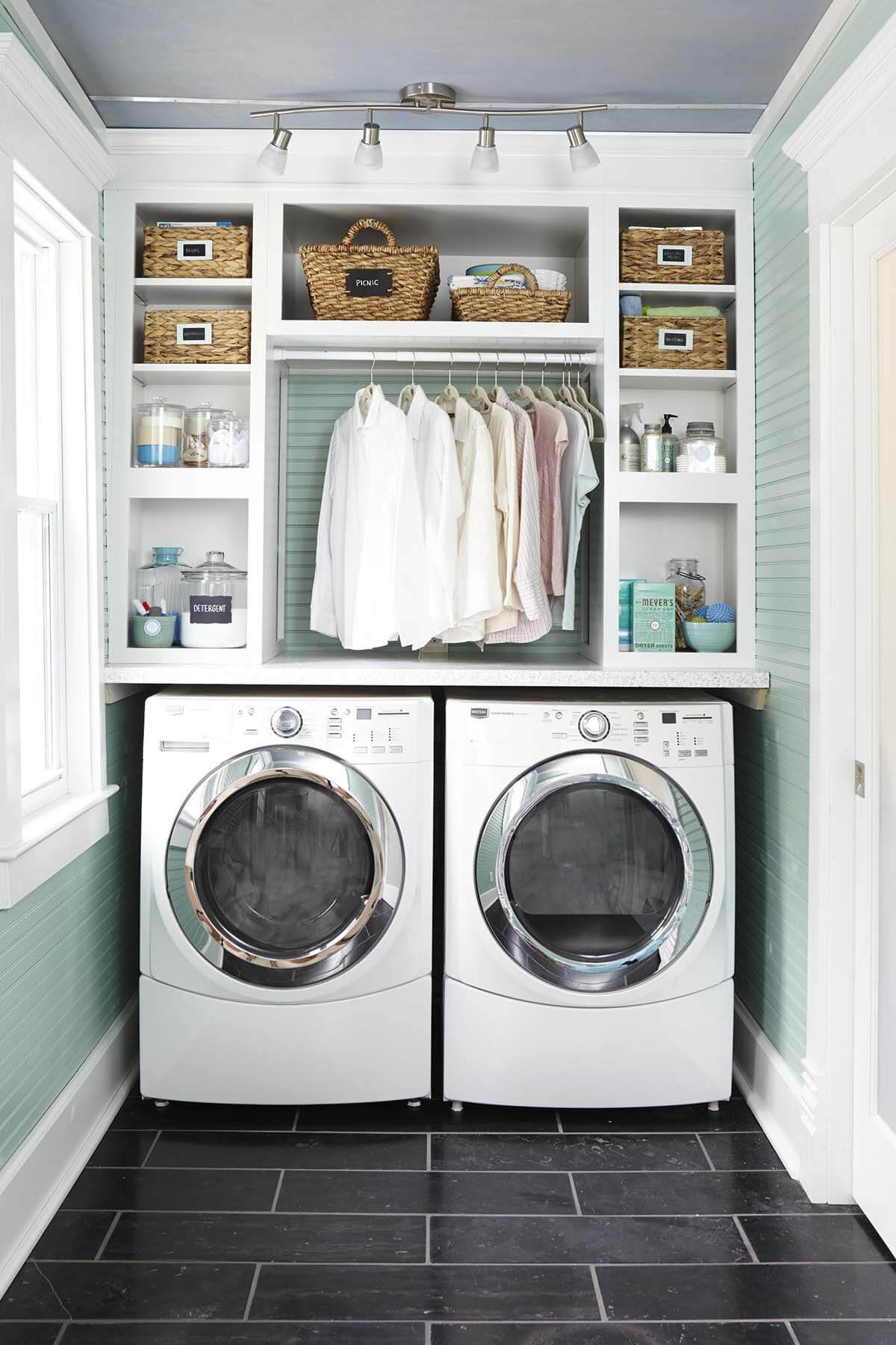 Small Laundry Room Ideas for Making Laundry Easier