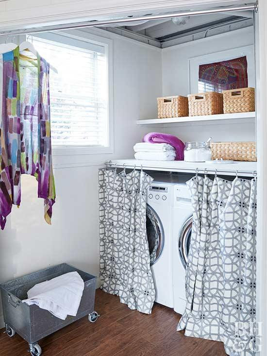 small laundry room ideas laundry room, laundry, washer and dryer TSXUSFC
