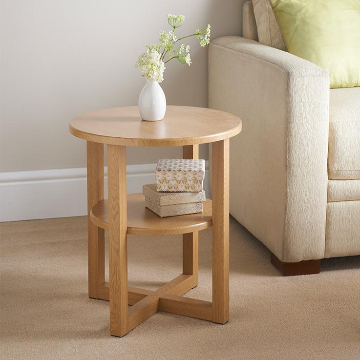 small side table 315373-milton-side-table-oak-finish WFJJZNH