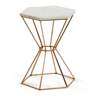 small side table luxury-design-hexagonal-bedside-table.jpg ... ROAFVWD