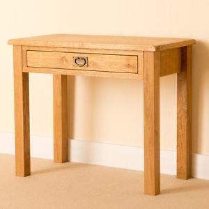 small table image is loading lanner-oak-small-one-drawer-laptop-desk-rustic- ZEDOJGU