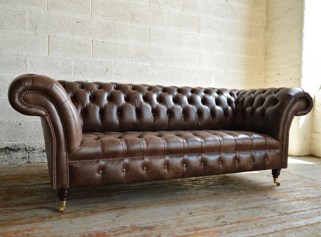 sofa chesterfield handmade traditional montana leather chesterfield sofa UFLZNQN