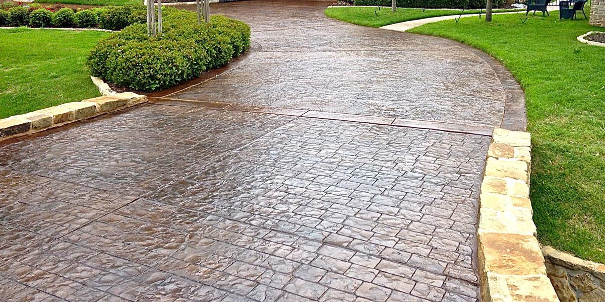 stamped concrete VOSAZYU