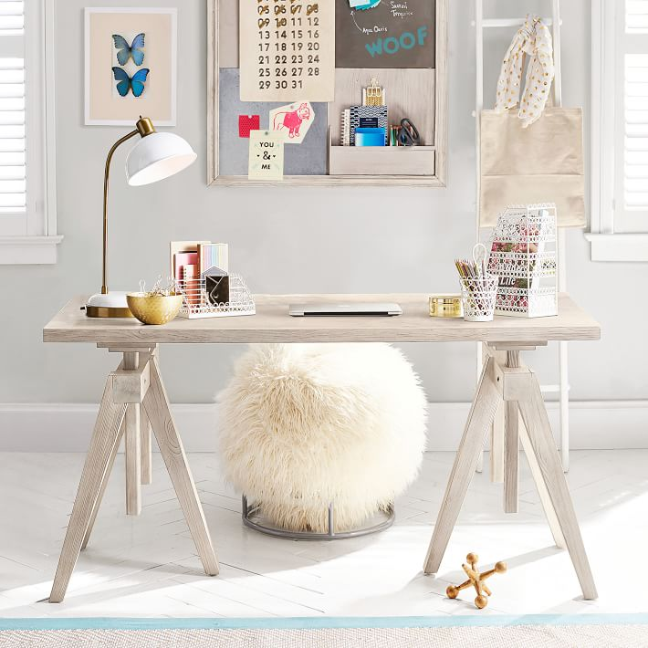 stand or sit study desk | pbteen QTYKJDS