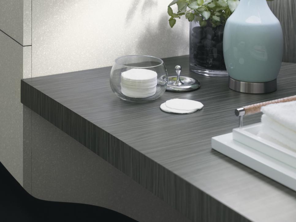 steep: bathroom countertops | hgtv QHUOQRM