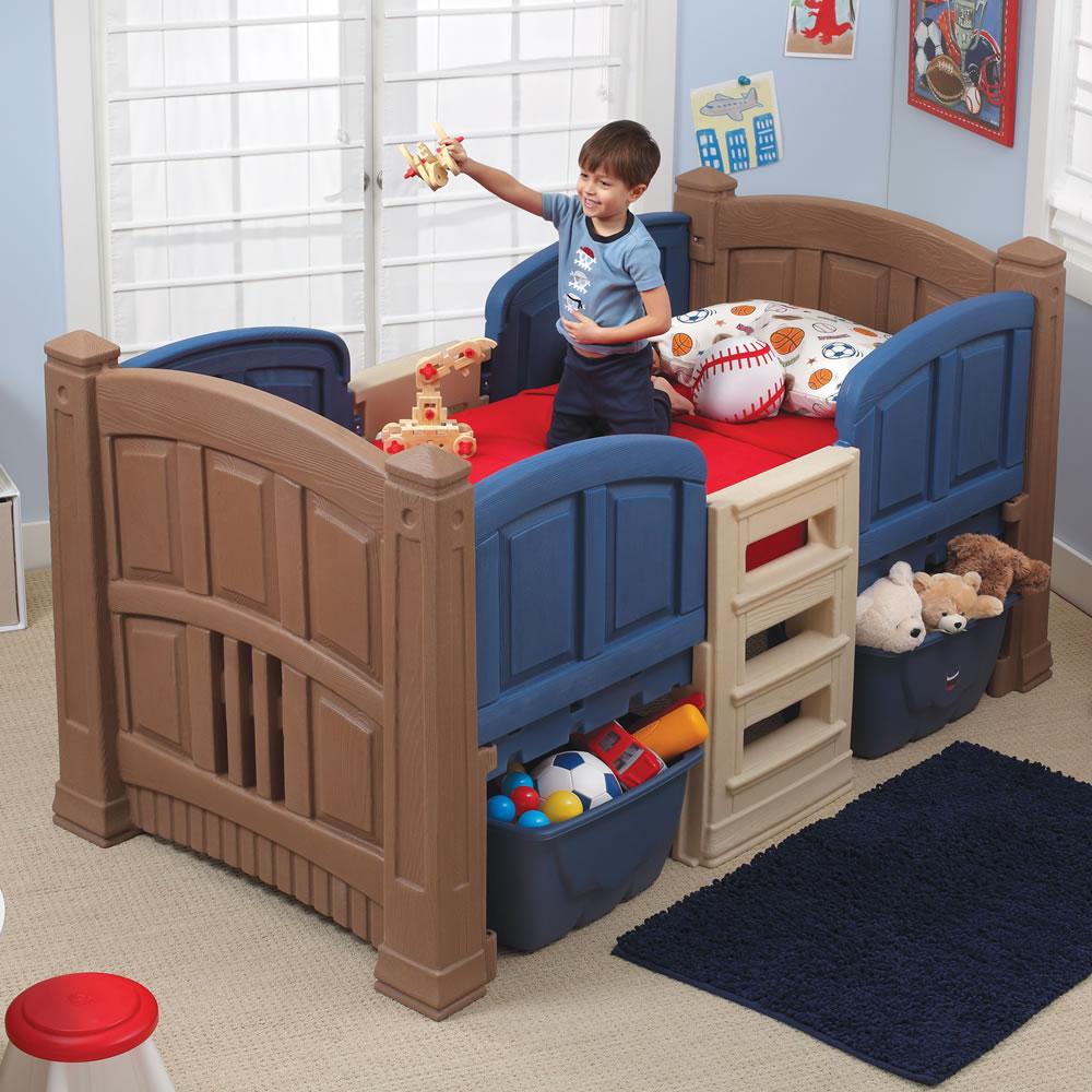 step2 boys loft u0026 storage twin bed kids bed MYLJDBG