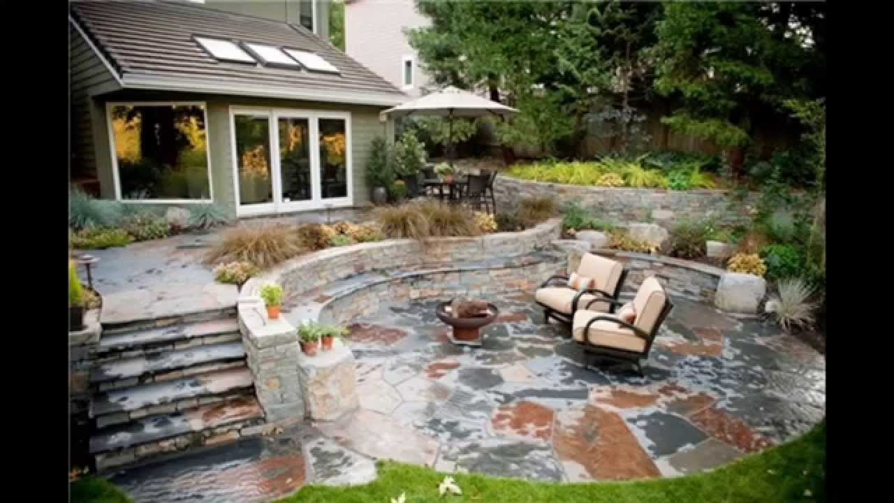 stone patio ideas AURMNMT
