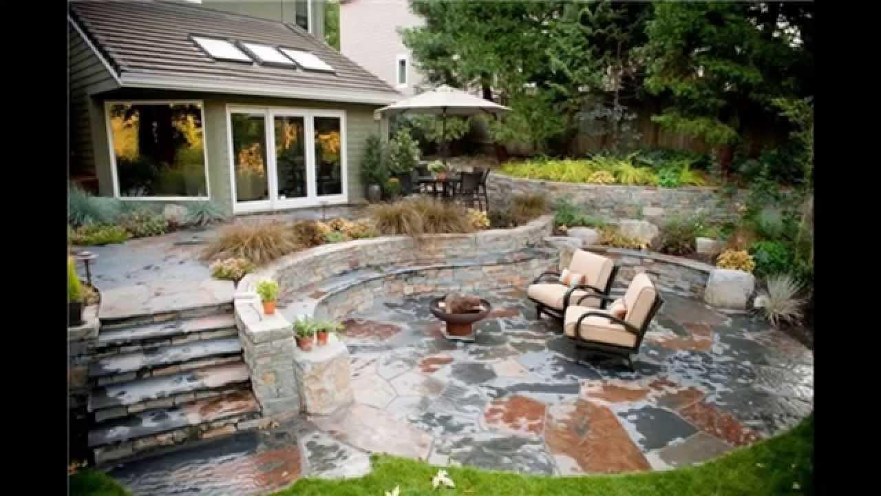 stone patio ideas AURMNMT