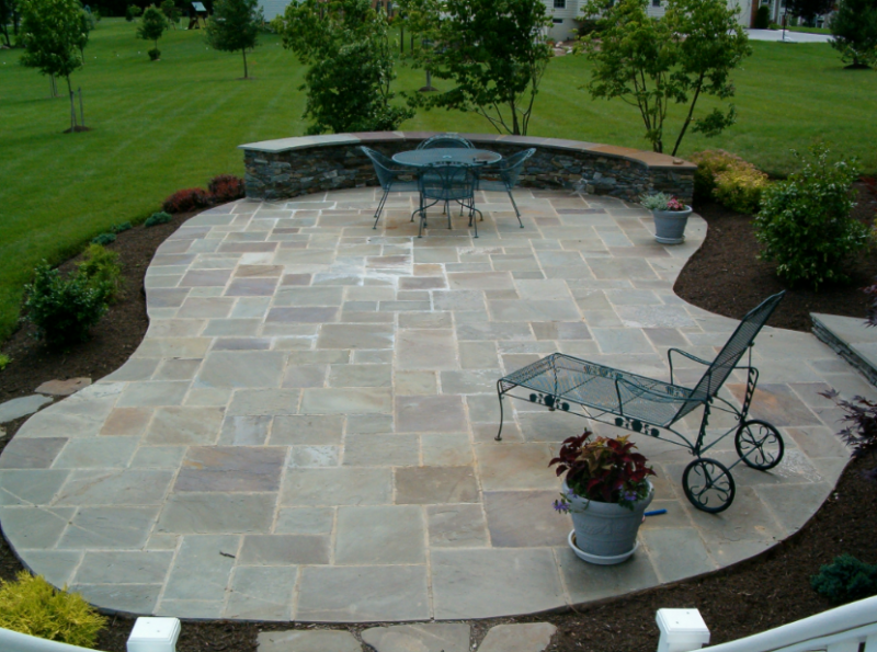 stone patio ideas beautiful-stone-patio MOFVWBG