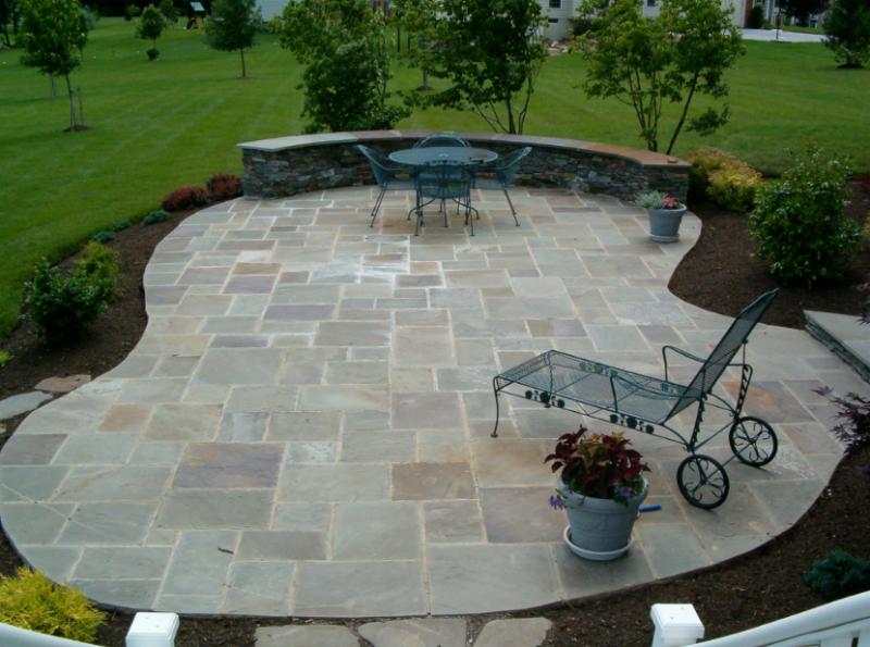 stone patio ideas beautiful-stone-patio MOFVWBG
