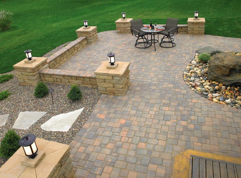 stone patio ideas paver-patio-designs DSHCXKU