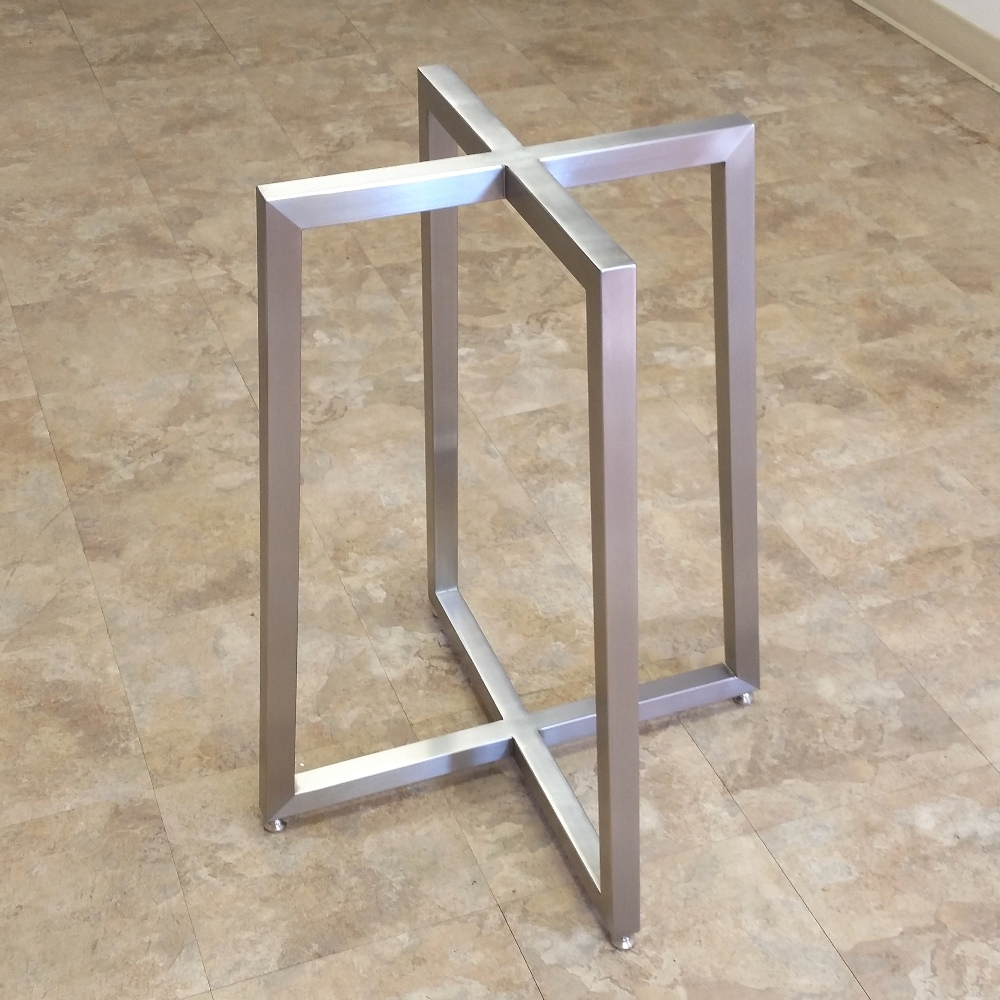 table bases stainless steel table base ZSHERWT