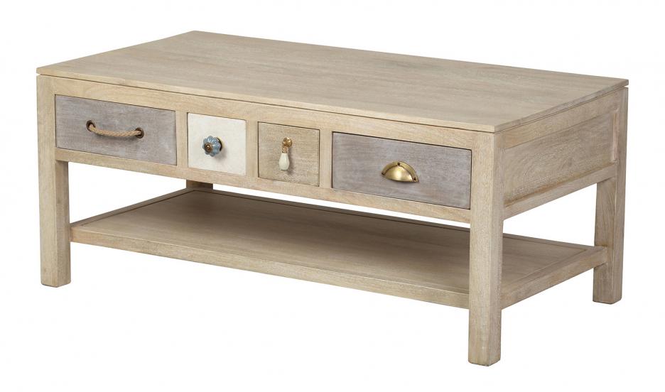 table salon :table de salon table basse en bois meuble salon pier import LKDYGPW