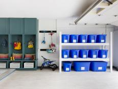 tackle garage organization in a weekend ITWBPJI