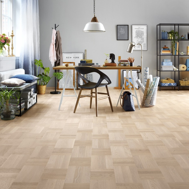 tarkett atelier noble oak scandinavian white parquet flooring BPXRVFI
