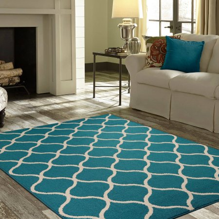 teal rugs teal area rugs inside mainstays sheridan rug or runner walmart com CMUJGQG