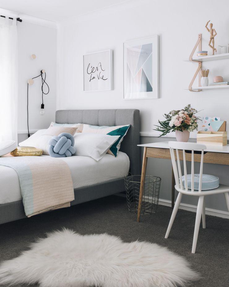 teen bedroom ideas kateu0027s teenage bedroom makeover | oh eight oh nine | bloglovinu0027 YYOAQGQ