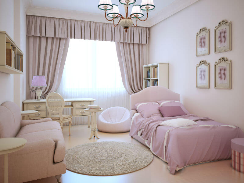 teenage girl bedroom ideas small teenage girls room with all pink decor INZRAFK