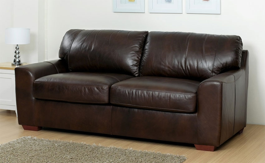 top leather sofa bed with maya memory foam within best idea UCJESED