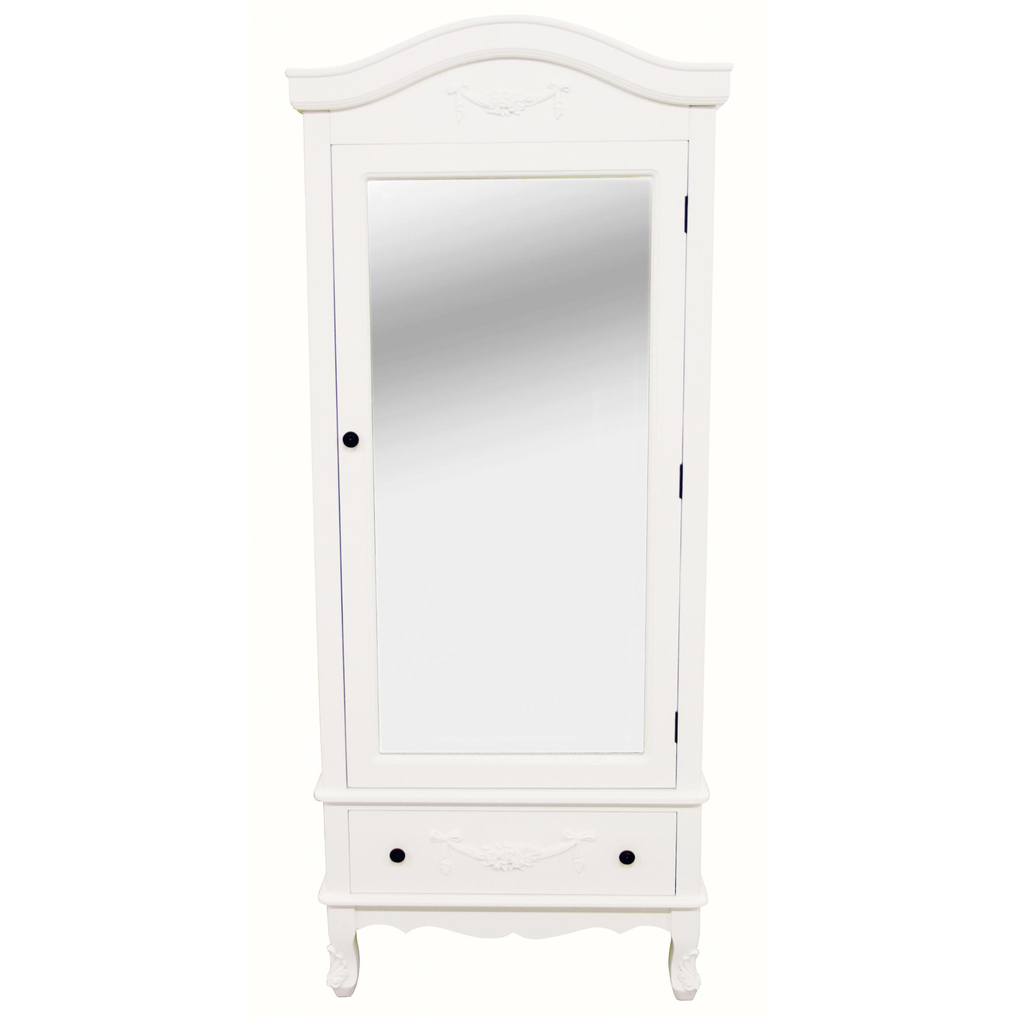 toulouse white single wardrobe KUKYWNT