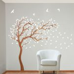Tree Wall Stickers Bring Stunning Beauty to Your Home Interior