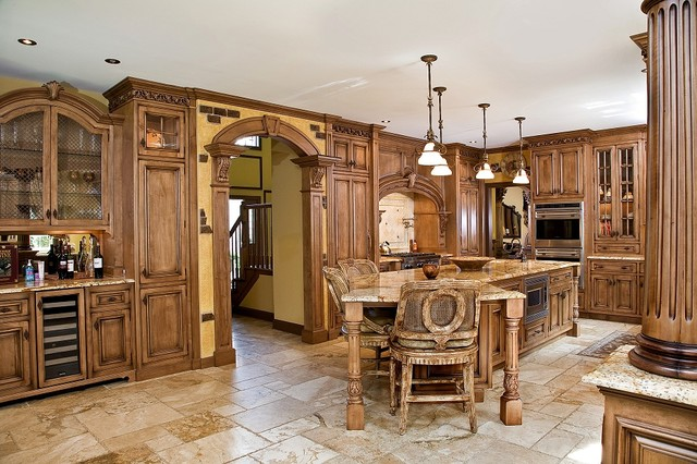 tuscan kitchen style tuscan kitchen design nj traditional-kitchen SEXOJEE