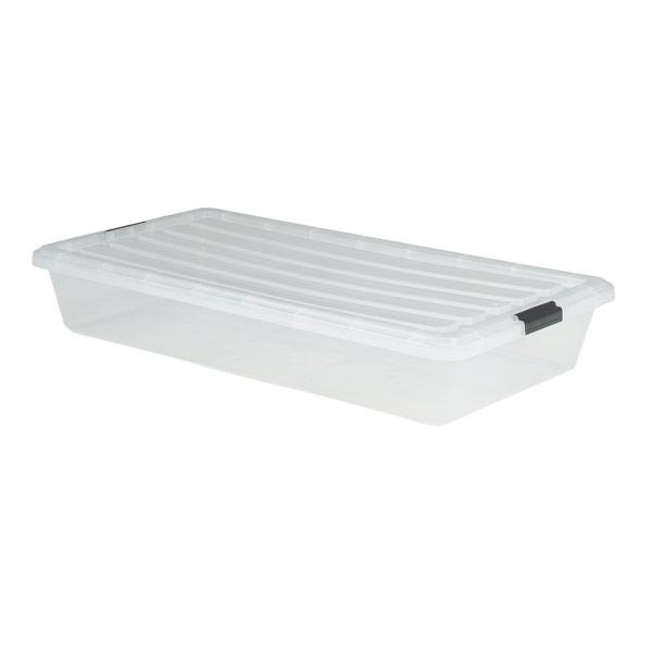 under bed storage under bed box with locking lid ELWWKAF