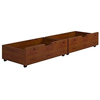 under bed storage under-bed storage drawers--espresso PDPNRGD