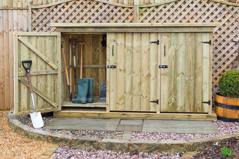 utilis garden storage unit YOZDWID