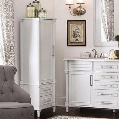 vanity cabinets linen cabinets · bathroom vanity lighting GOJHZZN