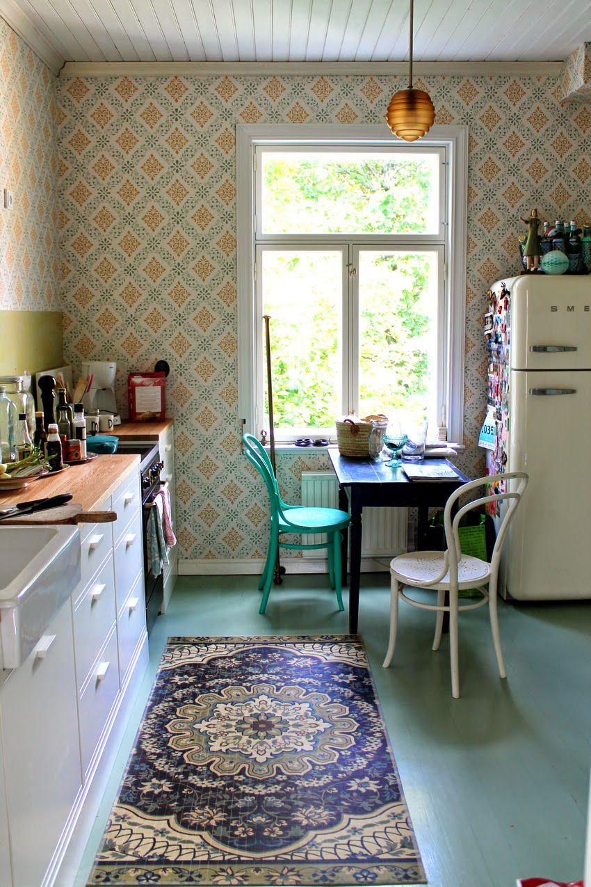 vintage kitchen niinanunelmia.blogspot.fi IJEJLMM