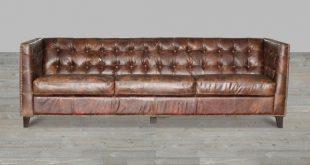 vintage leather sofa cigar antique brown top grain leather sofa gold nailheads NHRGBEU
