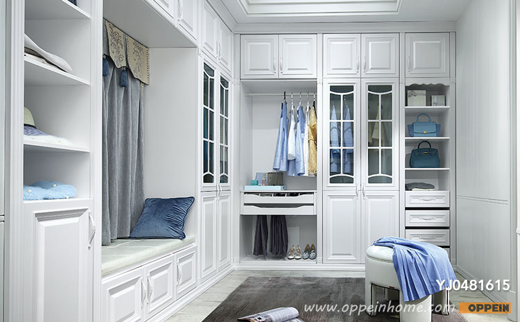 walk in wardrobe classical l-shaped walk-in closet yj0481615 QGGPMYM