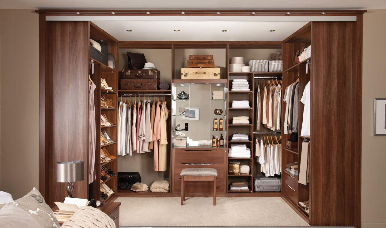 walk in wardrobe the sliding doors hide an interior storage system which can be SULSECC