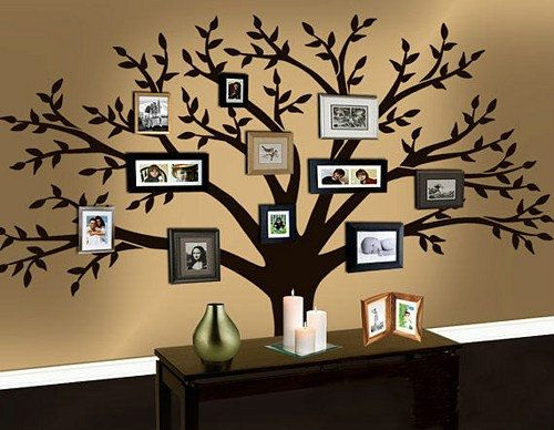 wall art ideas 3 family vinyl wall decal JOHBAVM