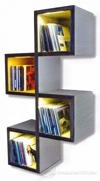 wall bookshelf plans GHXCIEU