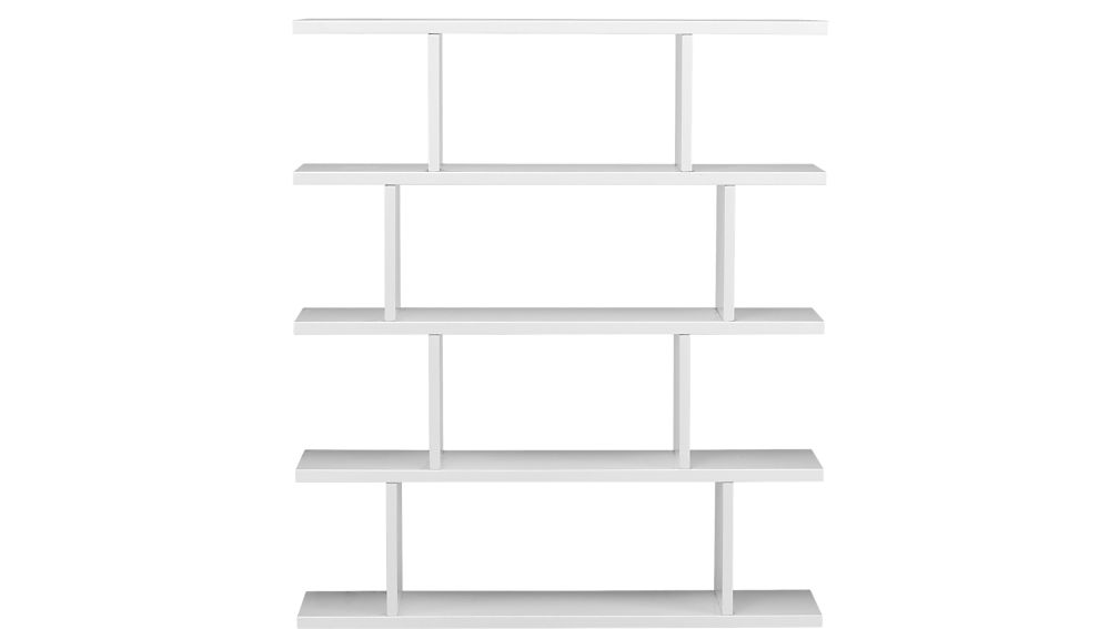 white bookcases 3.14 modern white bookcase + reviews | cb2 PEDQLCJ