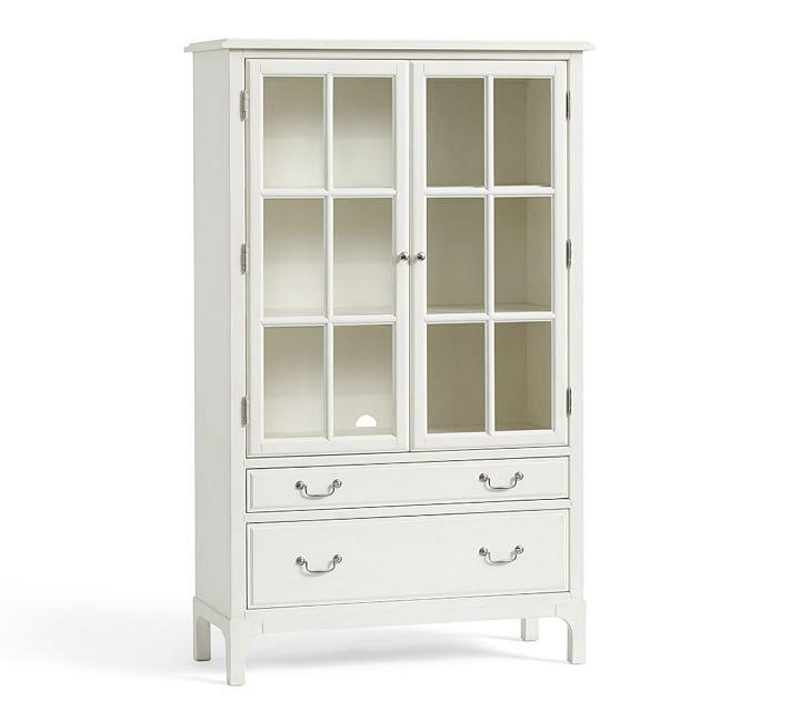 white bookcases bronson bookcase | pottery barn PYHEHHL